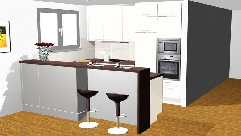 Küche Mit Bartheke preislagen